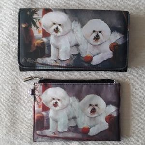 🐾 Bijon Frise Wallet and Coin Purse